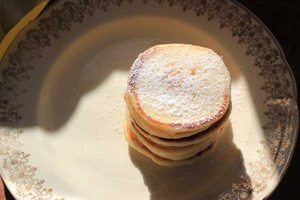 Yoghurt pannenkoeken