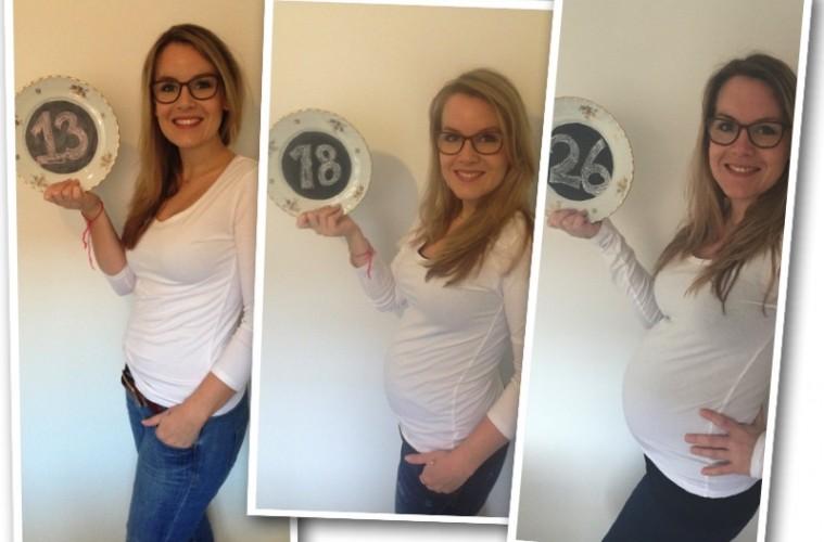 collage zwanger